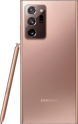Samsung Galaxy Note20 Ultra 5G Frontalansicht mystic bronze big